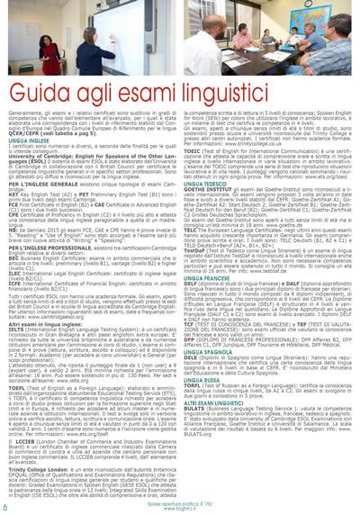 Guida agli esami linguistici