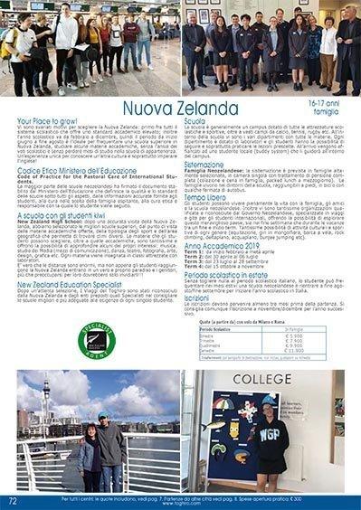 High School Nuova Zelanda