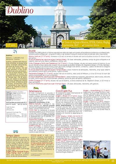 Preparazione scolastica - Dublino 2020