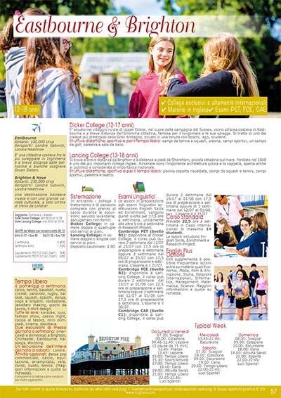Preparazione scolastica - Eastbourn Brighton 2020