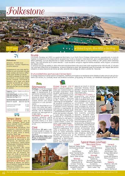 Preparazione scolastica- Folkestone 2020