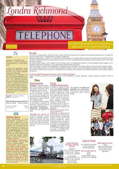 Preparazione scolastica - Londra Richmond 2020