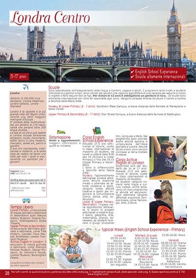 Preparazione scolastica - Londra centro2020