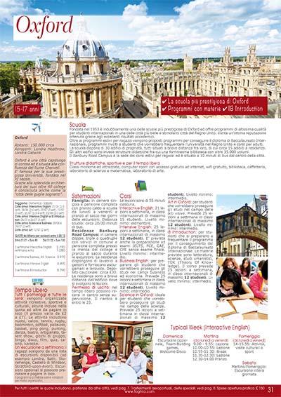 Preparazione scolastica - Oxford 2020